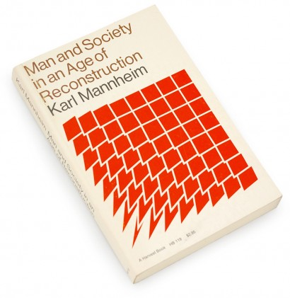 Man and Society in an Age of Reconstruction, grid, squares, abstract, metamorphosis, simple graphics, 60s design, sixties book cover, donald crews, ann crews, karl mannheim
