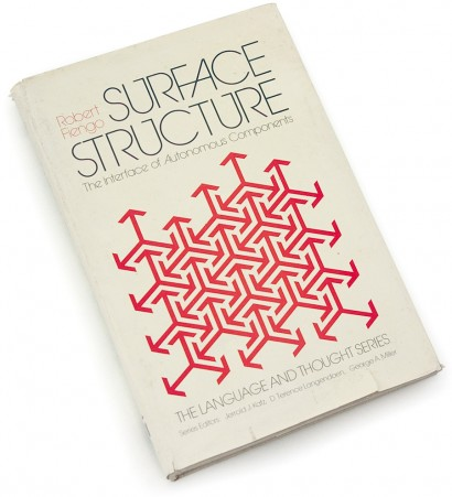 surface structure, robert fiengo, 1980, early 80s graphics, eighties design, 70s, seventies, arrows, pattern, abstraction.