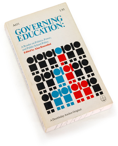 sixties book design, education in the sixties, government and schools, 60s graphics, henry pujol, doubleday book covers