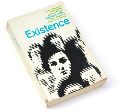60s design, sixties graphics, existence, john and mary condon, book cover design, mid-century graphics