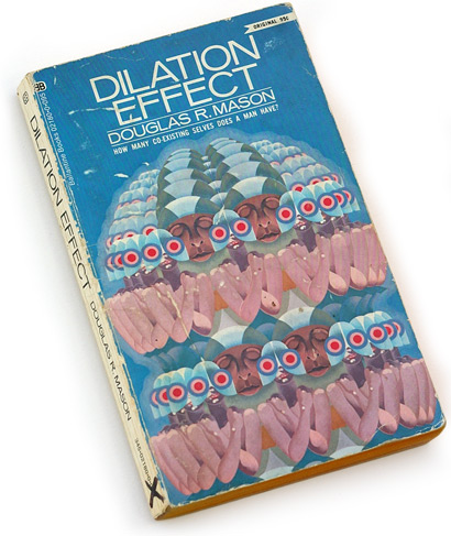wilson mclean, douglas r. mason, dilation effect, matrix, 70s paperback, seventies sci fi, book cover design, graphic design