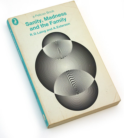enzo ragazzini, 70s design, op-art, pelican, sanity madness and family, 1970