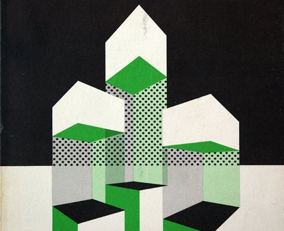 detail, flat graphics, sixties, urbanism, 3-color graphics, holt rinehart and winston inc.