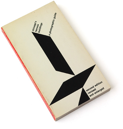 chicago architecture, abstract cover, sixties graphic design