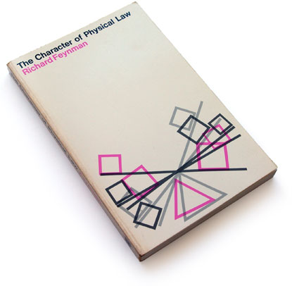 feynman, MIT Press, 60s book cover design, sixties graphic design