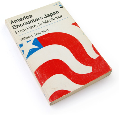 sixties graphic design, 60s book cover, american flag, japan, james wageman
