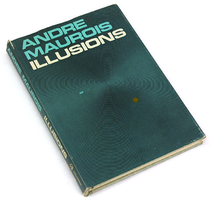 sixties book cover design, trippy spiral book jacket, 60s graphic design, andre maurois