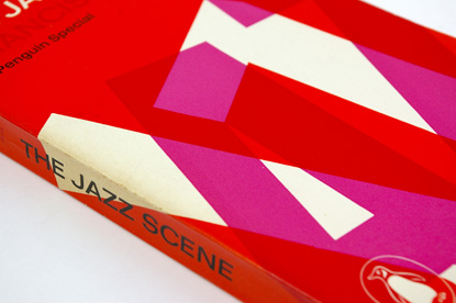60s condensed type, alan fletcher design, penguin cover, overprint, sixties typographic