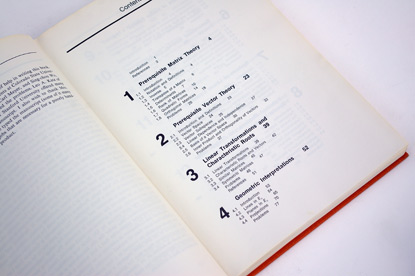 table of contents design, 1960s book design, sixties grid design, helvetica, textbook design