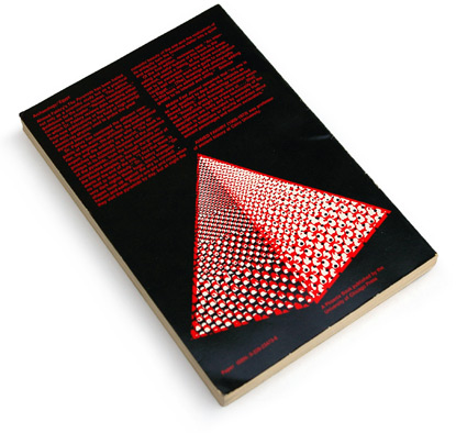 1960s graphic design, 60s book cover, pyramids, abstract illustrations, halftone