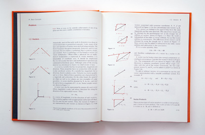 seventies engineering textbook, 70s book design, helvectica