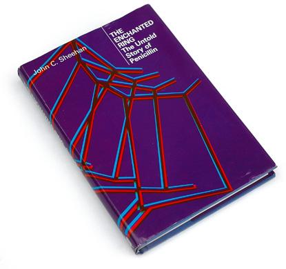 seventies eighties design, 70s 80s book cover, penicillin book cover, overprint, color