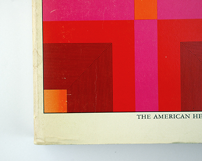 religious book design 70s, seventies graphic design, protestant book cover 1973